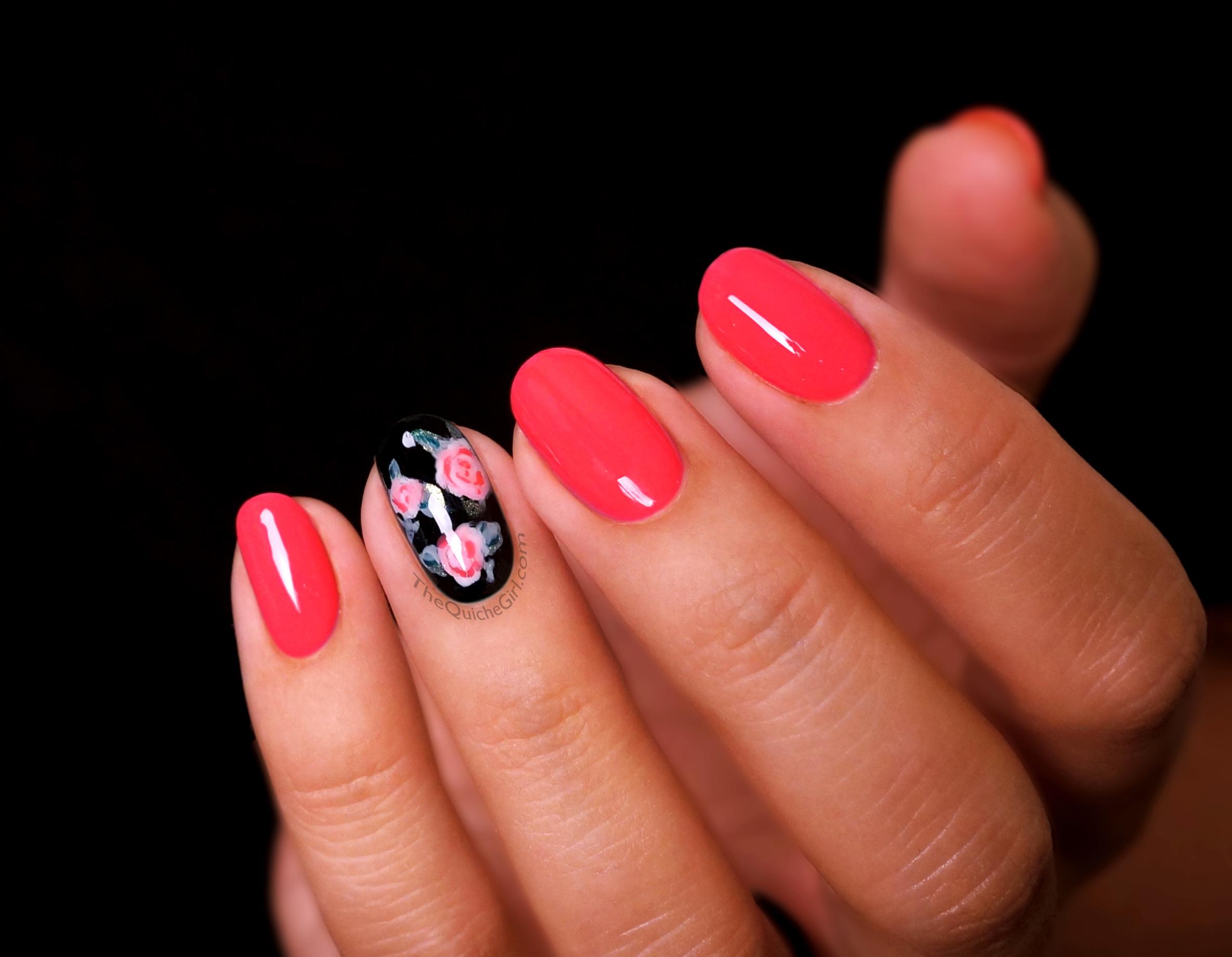 Laka rose s la blogo fait pshiiit quichegirl - Forme des ongles ...
