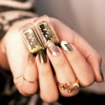 TheNewBlack, EuroTrash,gold,glitter,green, QuicheGirl