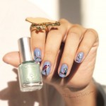 Avril, birds, oiseaux, bleu, nailpolish, QuicheGirl