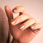 Holi, pigments, top coat, Nailstorming, QuicheGirl