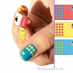 nailstorming, apple, iphone, 5C, dot, QuicheGirl