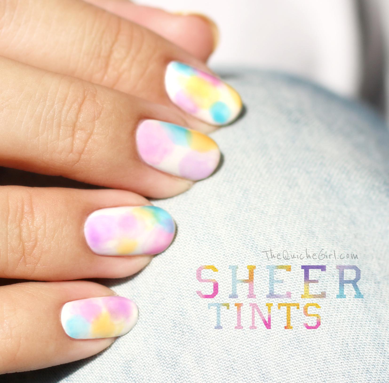 OPI,sheer tints,mini, jelly,QuicheGirl