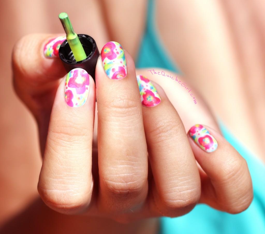 fleurs, neon, quichegirl