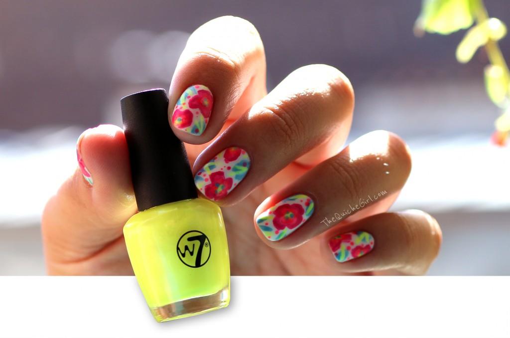 fleurs, neon,sous exposé, quichegirl