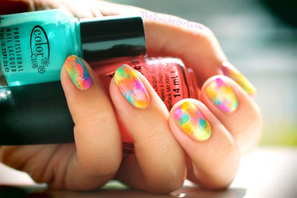 abstract, neon, eponge, QuicheGirl