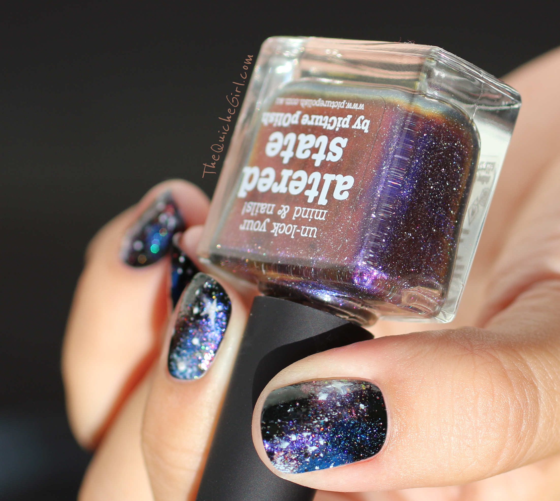 altered state, galaxy, nailstorming, QuicheGirl