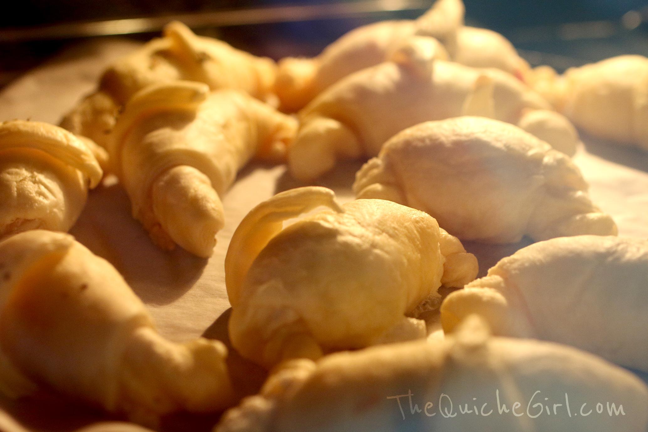 croissant, cuisson, QuicheGirl