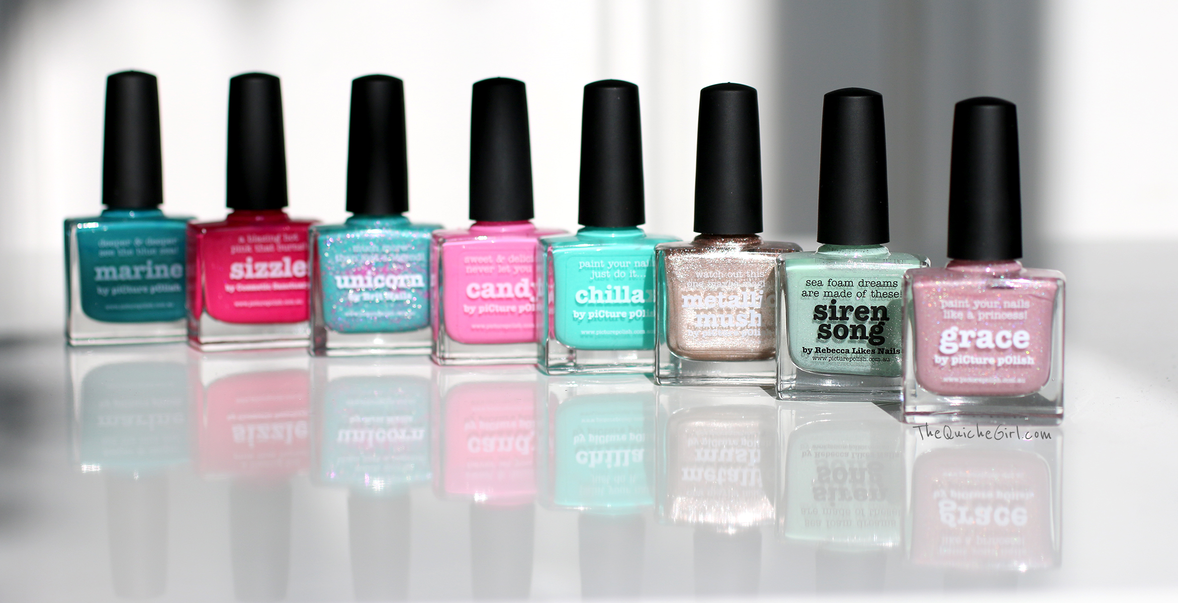 packaging, Picture Polish, QuicheGirl