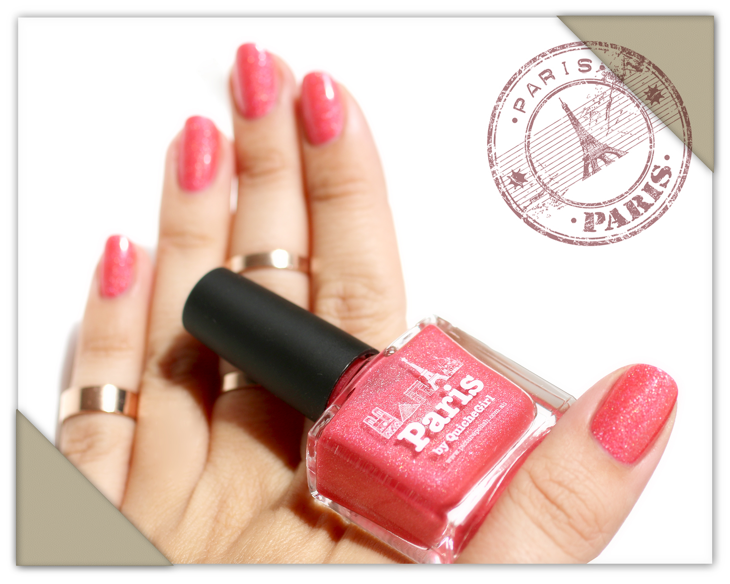 Paris, postal card, Picture Polish, QuicheGirl