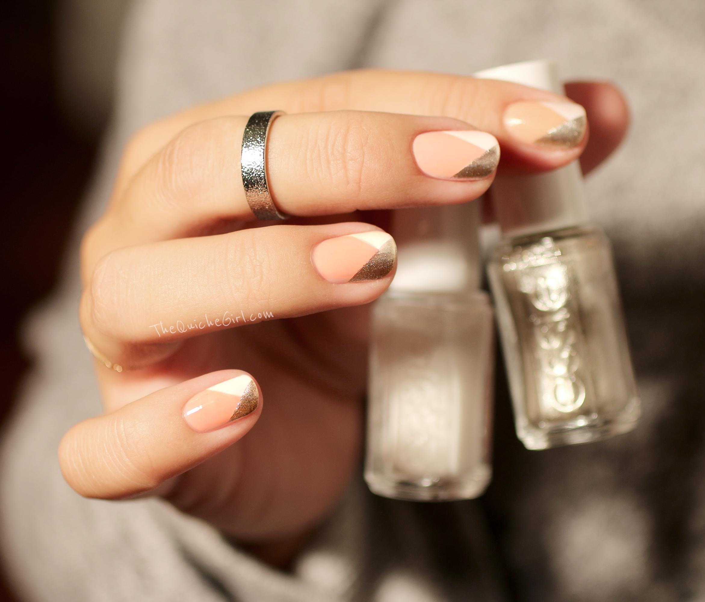Essie, Noel, french, festives, QuicheGirl
