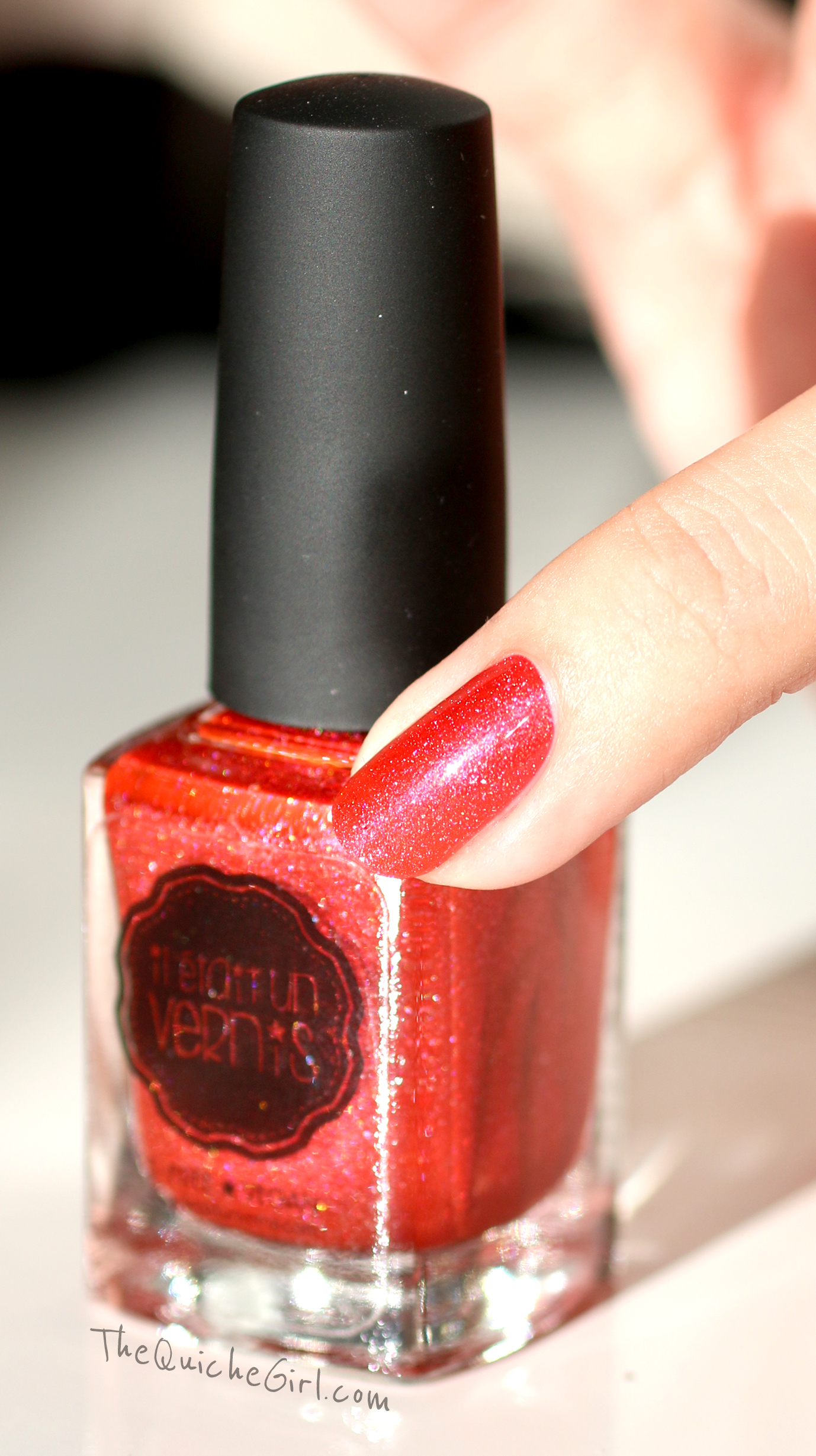 no comment, packaging, il était un vernis, QuicheGirl