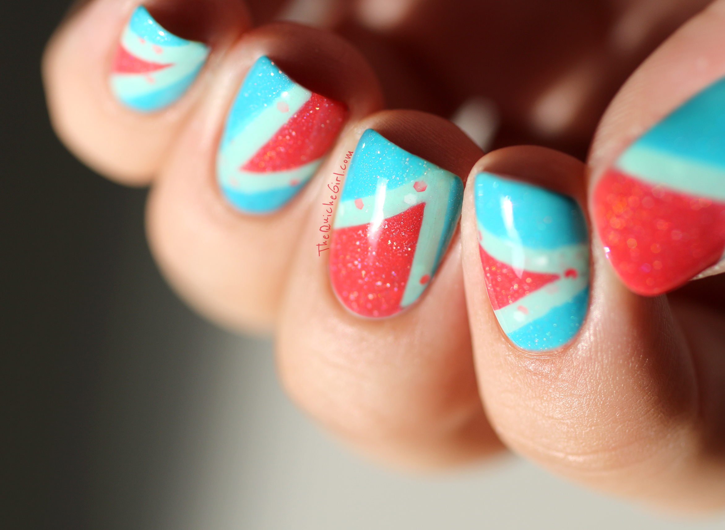 Paris, Minty, Cyan, macro, Picture Polish, Pacckaging, triangle, QuicheGirl