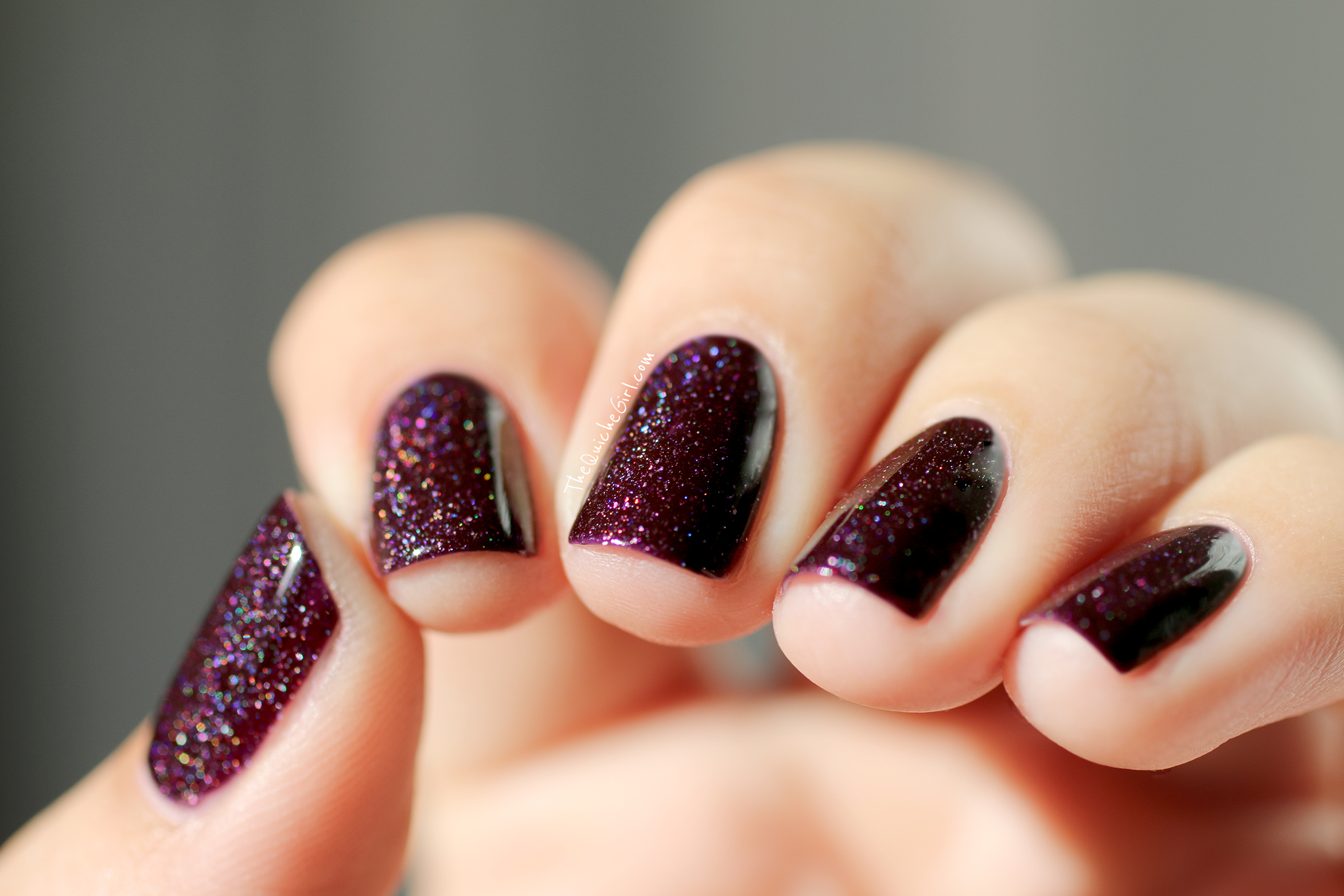 Karma, piscture polish, macro, prune, quichegirl