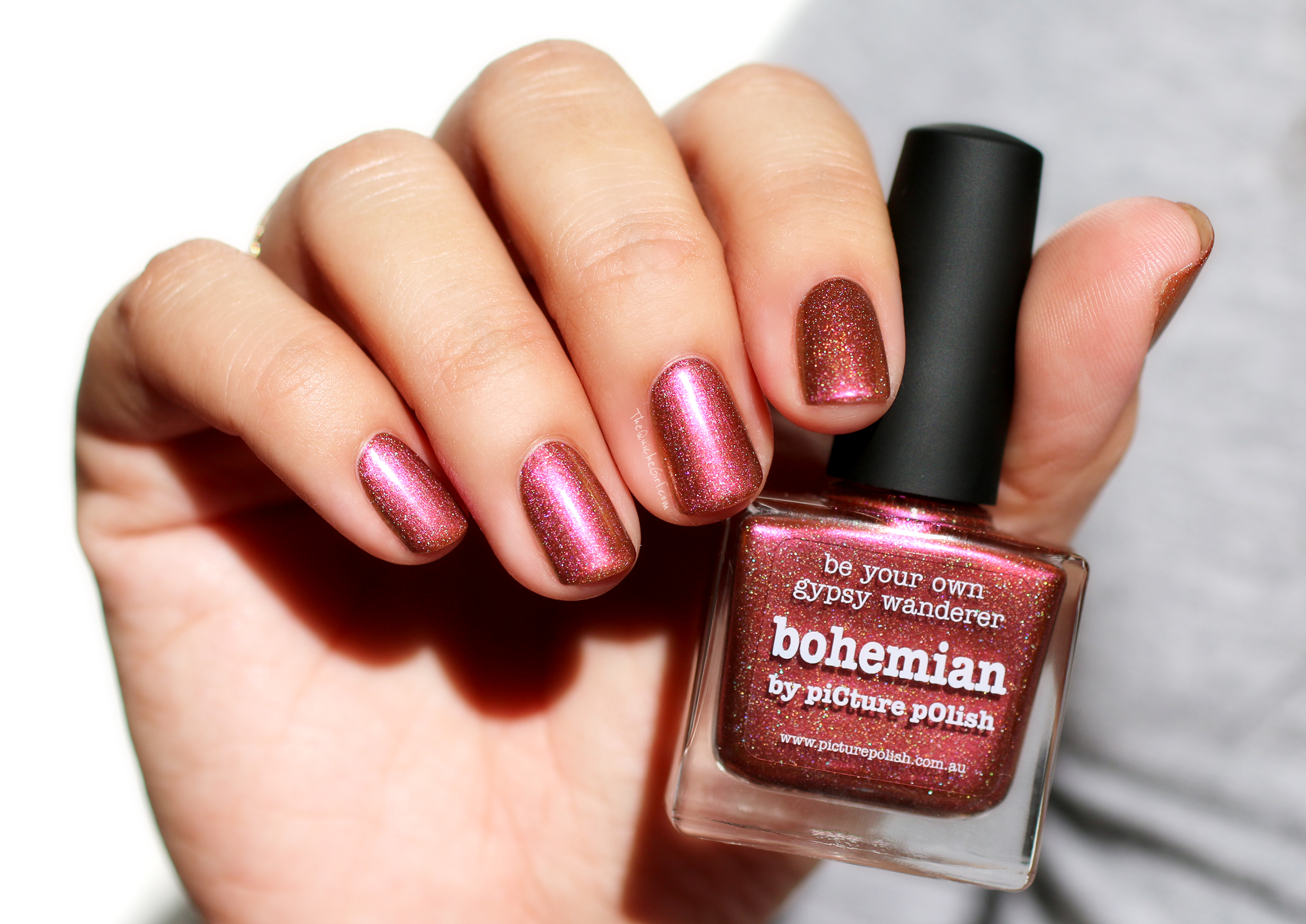 bohemian, packaging, picture polish, QuicheGirl