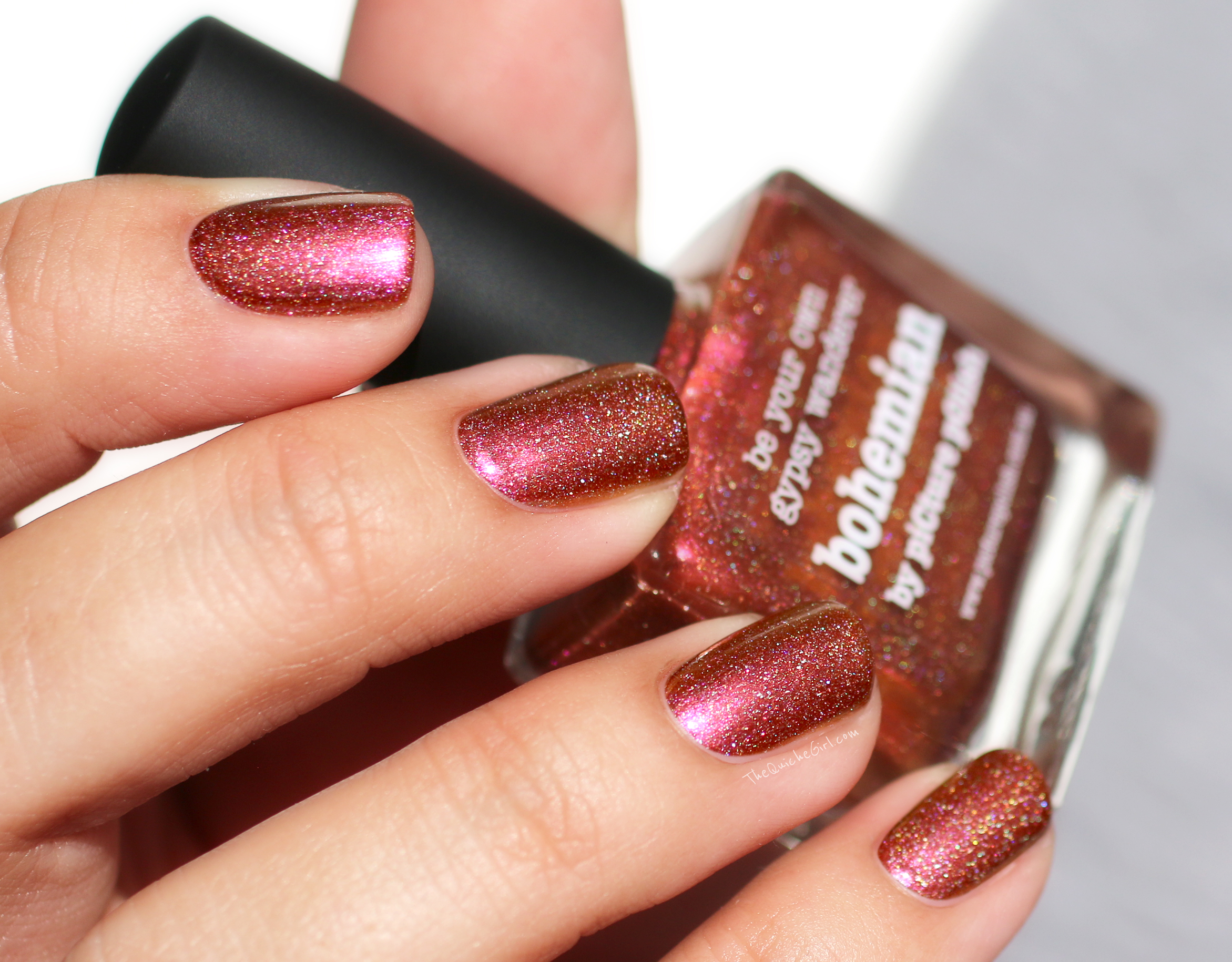 bohemian, picture polish, holographic QuicheGirl
