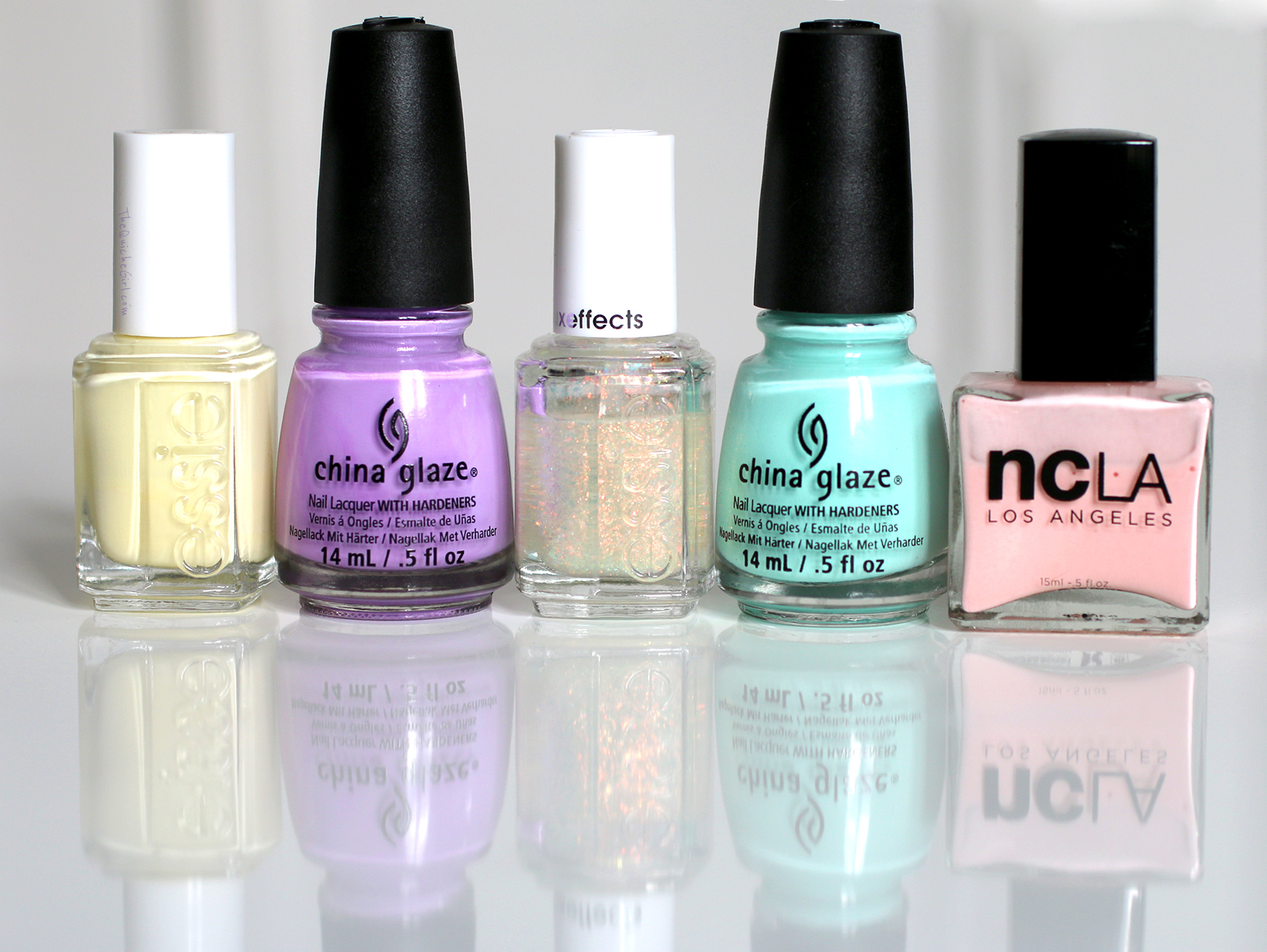 packaging, paques, NCLA, Essie, China Glaze, QuicheGirl