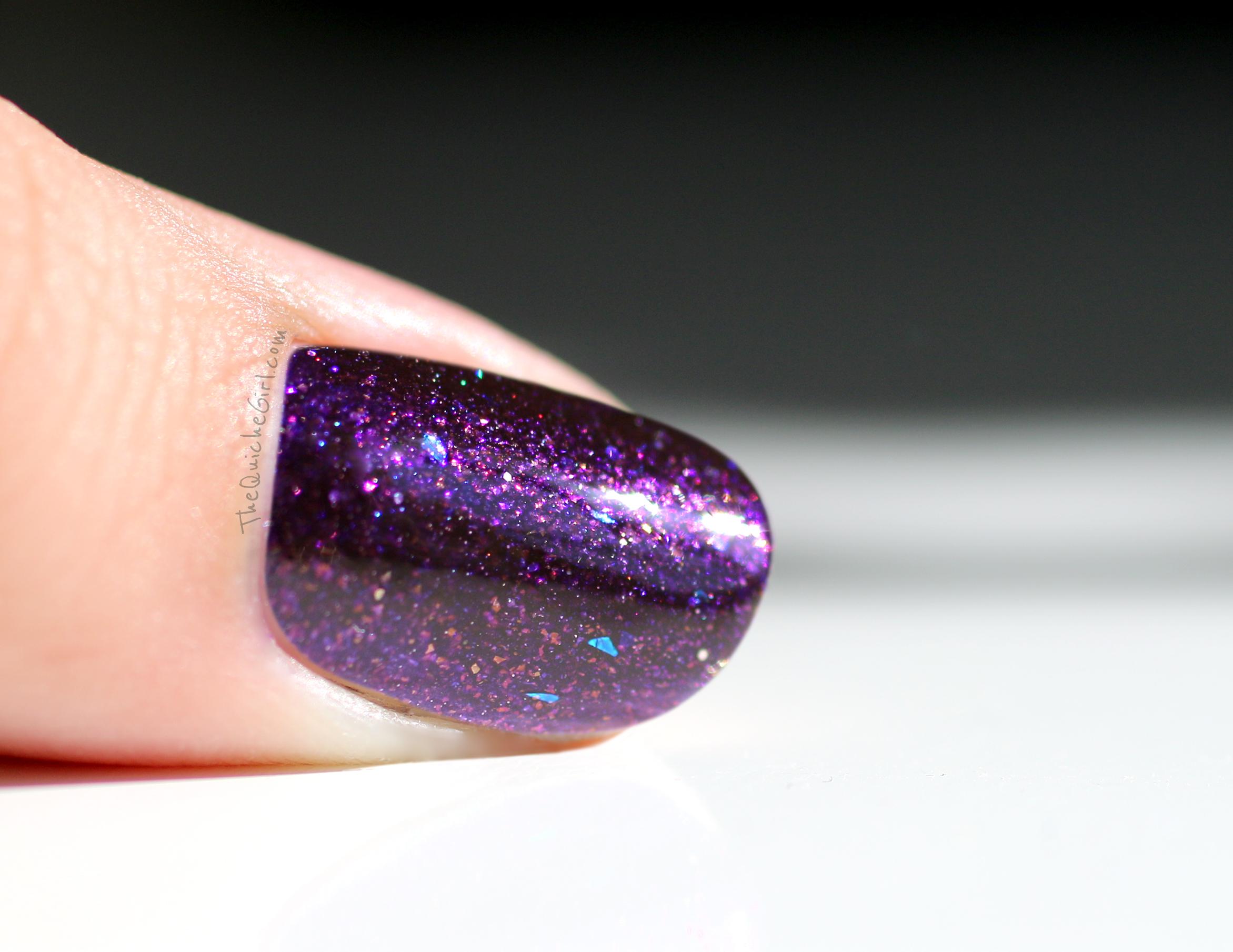 renaissance cosmétique, macro, violet, Quichegirl