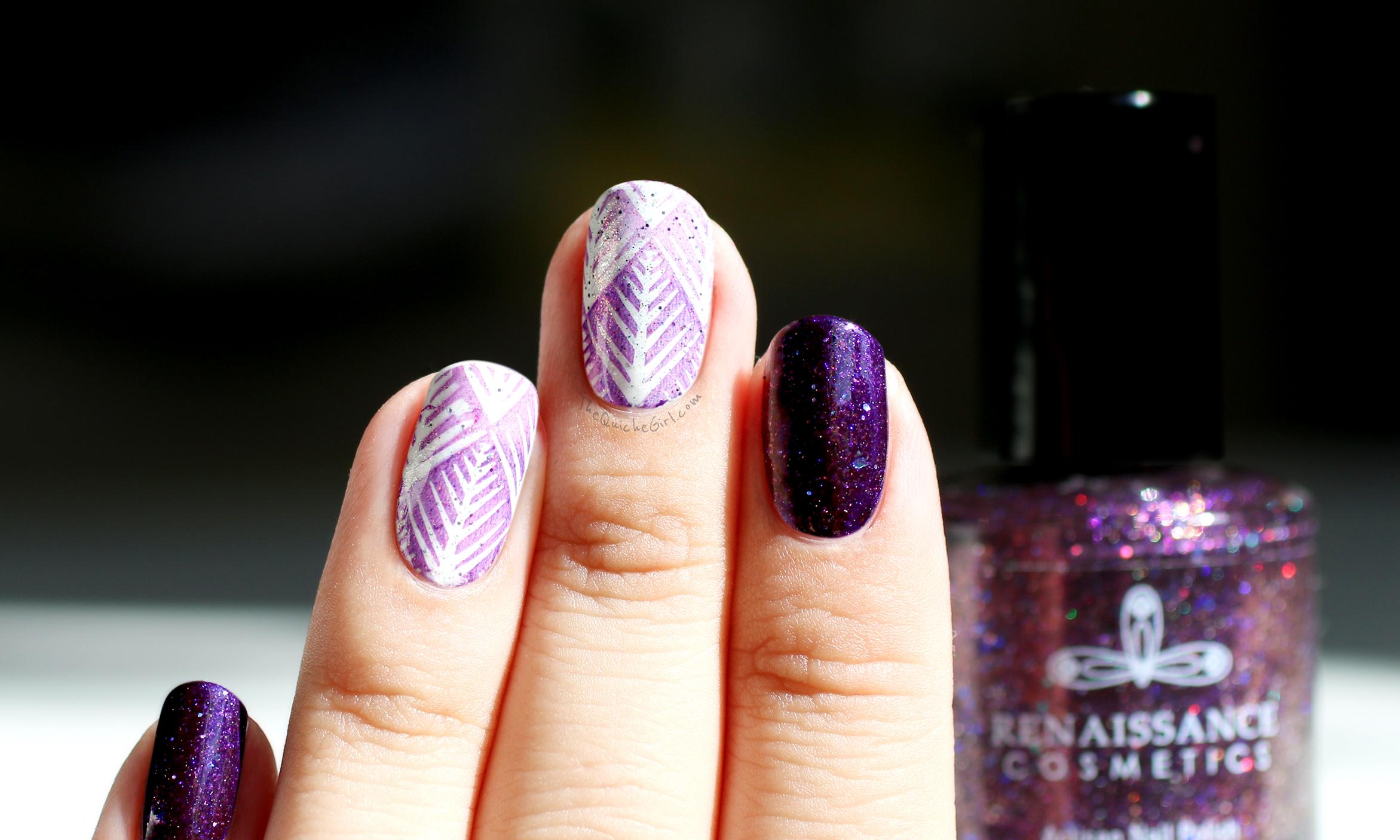 renaissance cosmétique, packaging, violet, blanc, Quichegirl