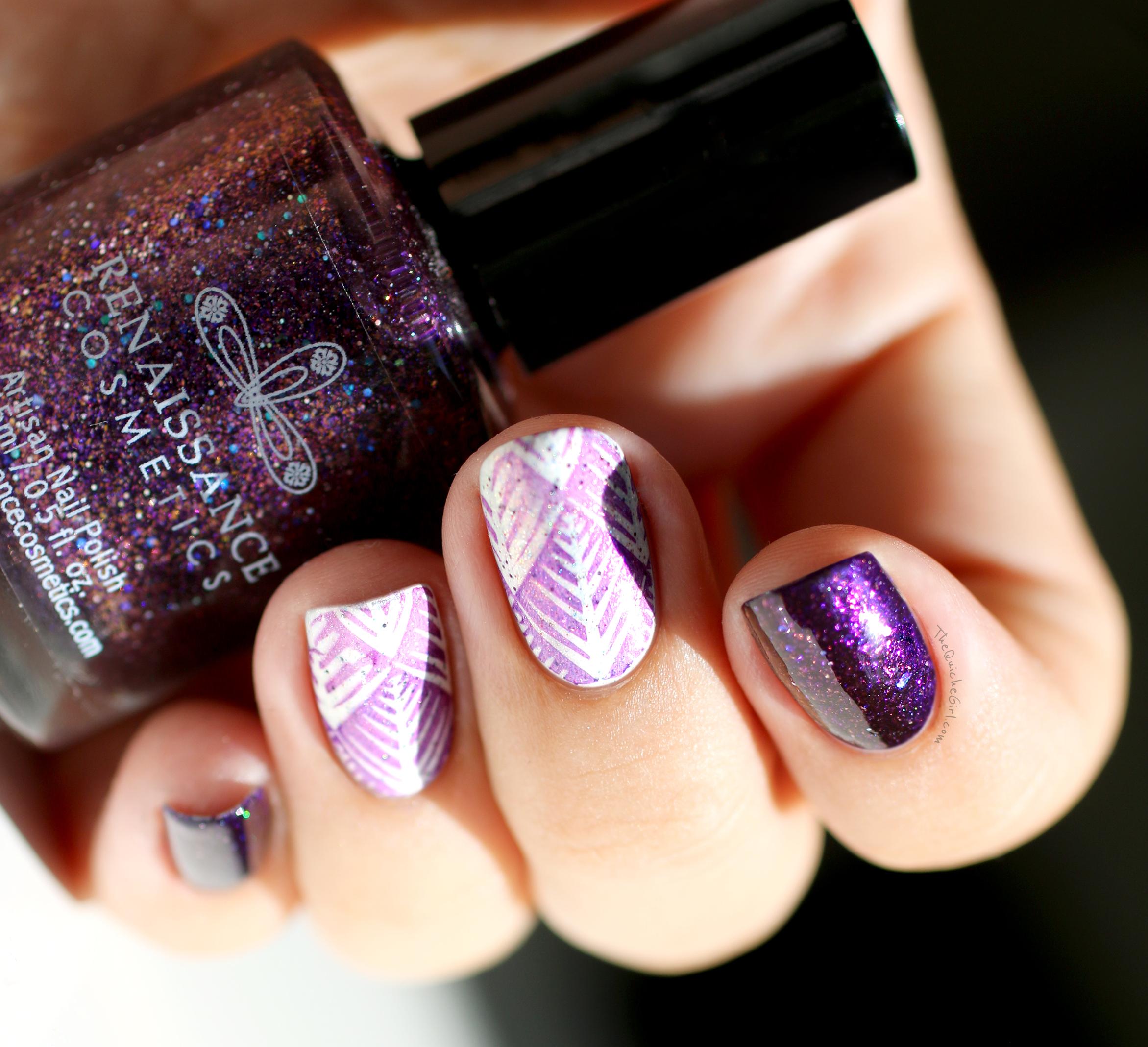 renaissance cosmétique,moyou,  violet, blanc, Quichegirl
